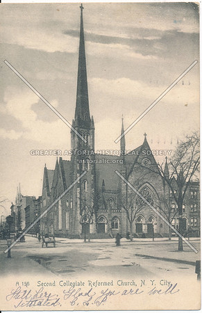 2nd Collegegiate Church, 122 St & Lenox Ave, NYC