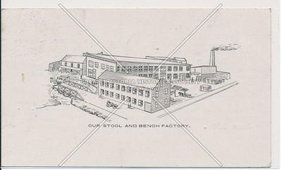 Burns Bros, Stool & Scarf Co, 104 E 129 St, NYC (piano stools, lambrequins)