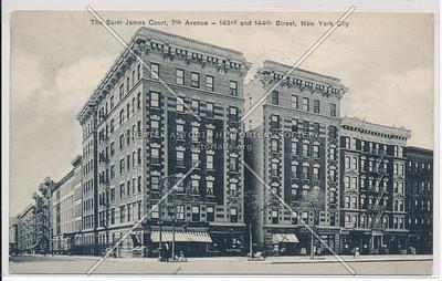 St James Court, 7 Av & 143-144 Streets, NYC