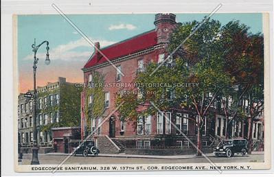 Edgecombe Sanitarium, 328 W 137 St, NYC