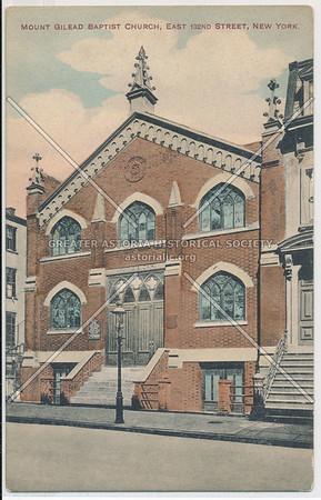 Mt. Gilead Baptist Church, E 132 st, NYC