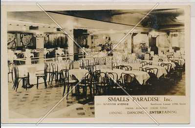Smalls Paradise, 2294 7 Ave (135 St), NYC