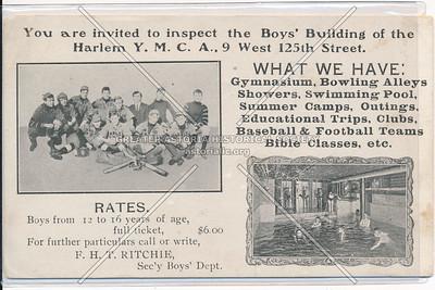 YMCA, 9 W 125 St, NYX