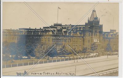 Hebrew Orphan Asylum, Amsterdam btw W 136 & 138 st NYC (1884)
