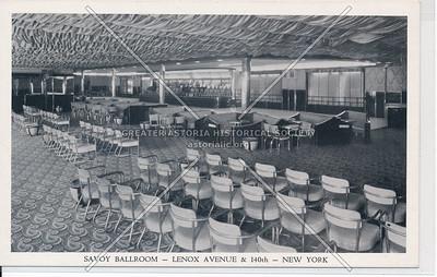 Savoy Ballroom, Lenox Ave & 140 St, NYC