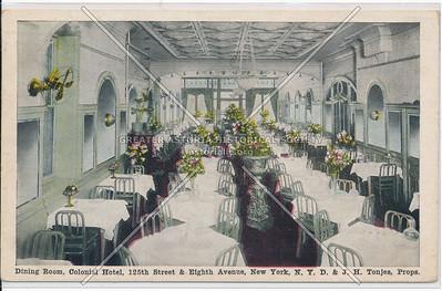 Colonial Hotel, 125 St & 8 Av, NYC