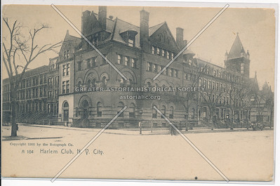 Harlem Club, NYC (1908)