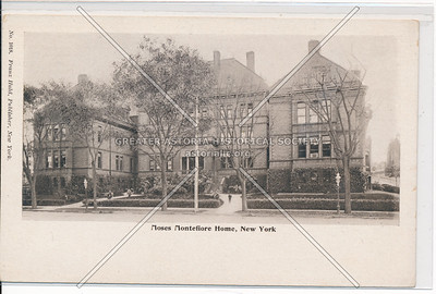 Moses Montefiore Home, B'way & 138 St, NYC (1884)