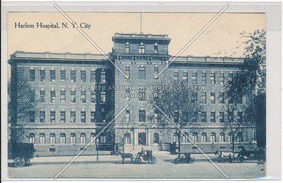 Harlem Hospital, 138 St & Lenox Ave, NYC