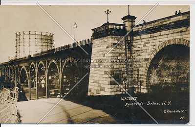 Viaduct, Riverside Drive, NYC