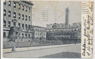 Harlem Hospital, 138 St & Lenox Ave, NYC