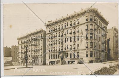 Fontenoy Apts, Convent & 152 St, NYC