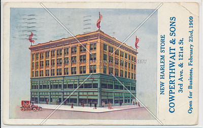 Cowperthwait & Sons, 3 Av & 121 St, NY