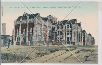 College of the City of New York, 138 St & Amsterdam Ave, NYC