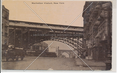 Manhattan Viaduct, 125 St, NYC