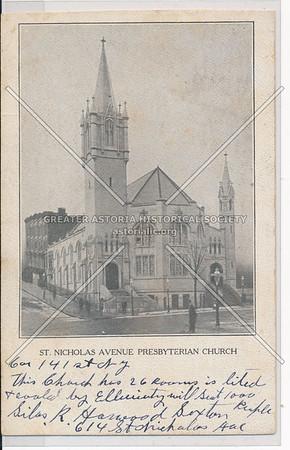 St Nicholas Ave. Presbyterian Church, 614 St Nicholas Ave, NYC (141 St)