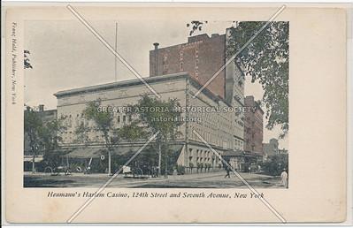 Heumann's Harlem Casino, 124 St & 7 Av, NYC