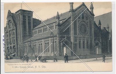 Temple Isreal, 5 Av & 125 St, NYC (1905) (Holt Trinity Epsic Ch 1869-1888)