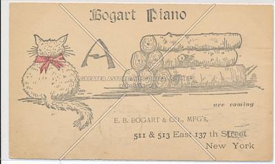 Bogart Piano, 511 E 137 St, NYC