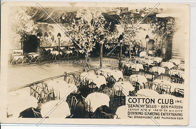 Cotton Club, Lenox Ave & 142 St, NYC