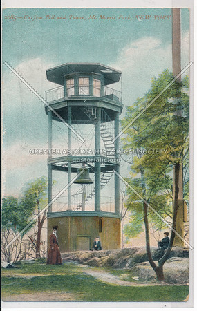 Fire Tower, Mt Morris Park, NYC