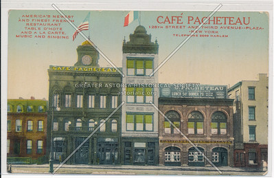 Café Pacheteau, 128 St & 3rd Ave, NYC