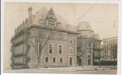 Hebrew Sheltering Guardian Society, B'way & 150-151 St, NYC (1912)