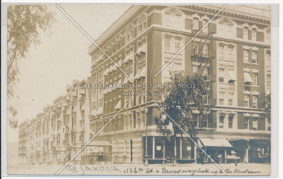 The Saxonia, 136 St & B'way, NYC (west)
