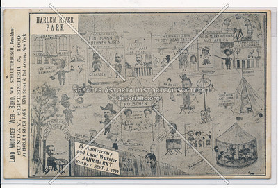 Land Wurster Bund, Harlem Park Casino, 126 St & 2 Av, NYC (1908)