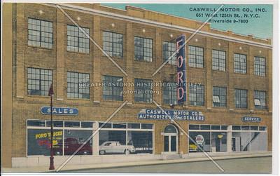Cashwell Motor Co, 631 W 125 St, NYC (1953)