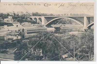 Washington Bridge, NYC (left)