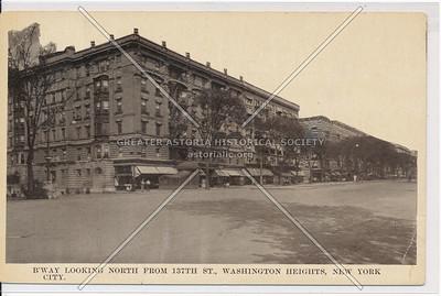 B'way N  of 137 St, Washington Heights, NYC