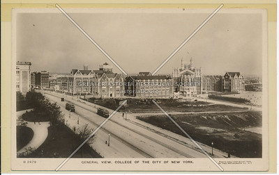 General View College of the City of New York, NYC