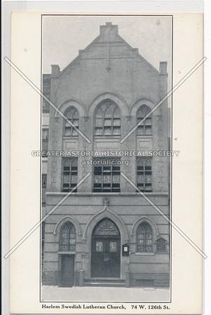 74 W 126 St, Harlem Swedish Lutheran Church, NYC