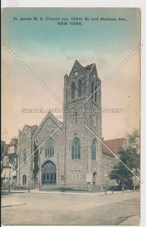 St James M E Church, 126 St & mad, Ave,. NYC
