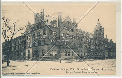 Eastman School, 123 St & Lenox Ave, NYC