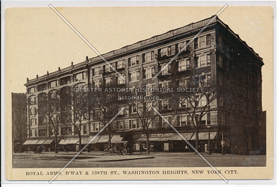 Royal Arms, B'way & 138 St, Washington Heights, NYC