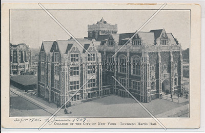 Towsend Harris Hall, College of the City of New York, NYC