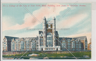 Main Building, College of the City of New York, NYC