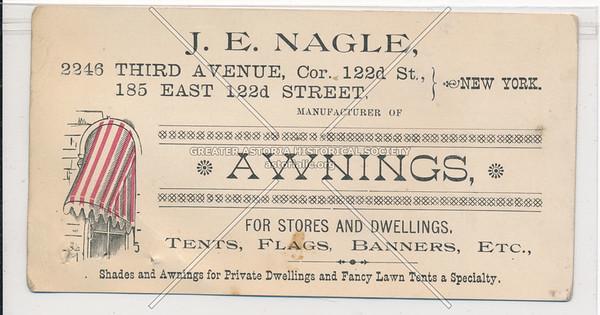 J E Nagle, 2246 3 Ave, NYC