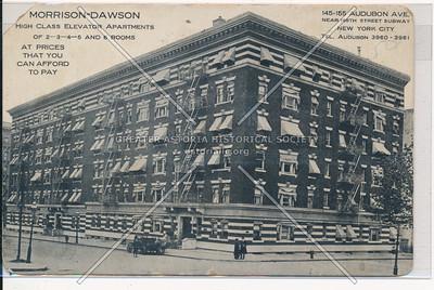 Morrison-Dawson, 145-155 Audobon Ave. Near 168th St. Subway, N.Y.C.