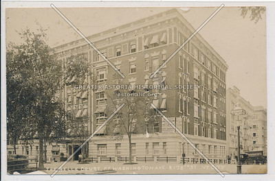 The Belle Court. Ft. Washington Ave. & 178th St. N.Y.C.