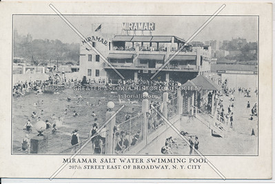 Miramar Salt Water Swimming Pool. 207th St, E of B'way, N.Y.C.