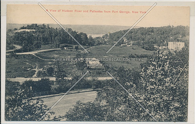 A view of Hudson River & Palisades from Ft. George, N.Y.C.