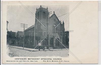 Centenary Methodist Episcopal Church. Washington Ave. & 166th St. N.Y.C.