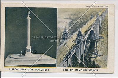 Hudson Memorial Monument/Hudson Memorial Bridge. N.Y.C.