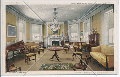 The Council Chamber, Washington's Headquarters, N.Y.C.