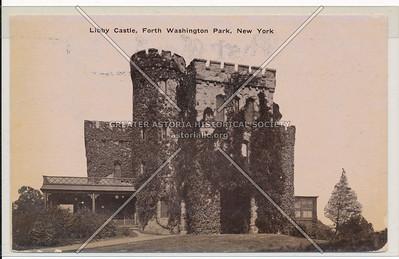 Libby Castle, Ft. Washington Park, N.Y.C.