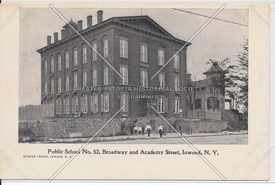 Public School No. 52, B'way and Academy St., Inwood, N.Y.C.