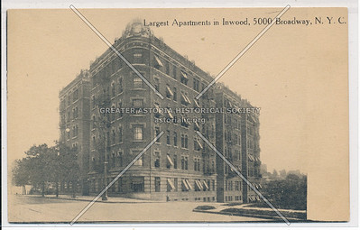 Largest Apartments in Inwood, 5000 B'way, N.Y.C.